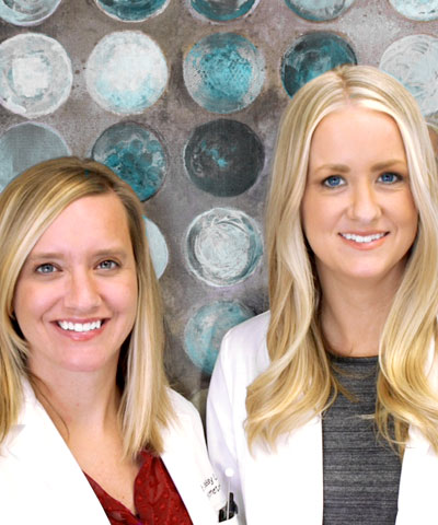Dr. Lindsay Loock and Dr. Mallori Aschenbrenner